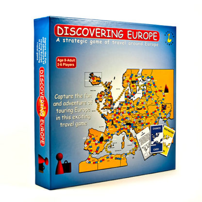 Discovering Europe Board Game